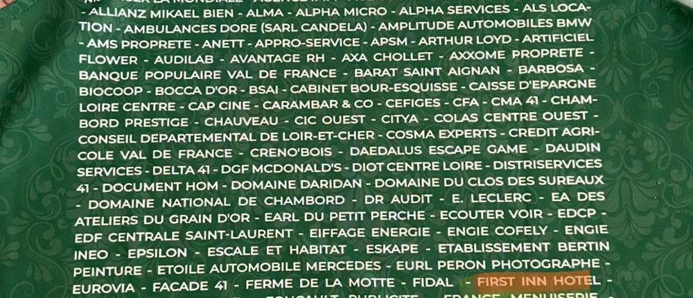 Partenaire pour la saison 2020/2021 de l'ADA Blois