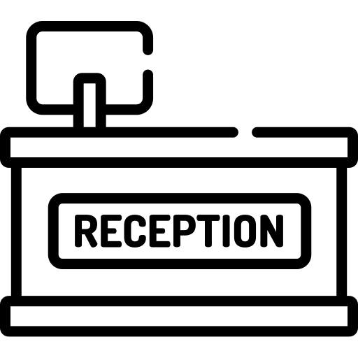 Reception open from 06:30 to 09:00